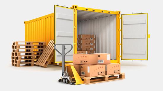 materiály pro exportní balení